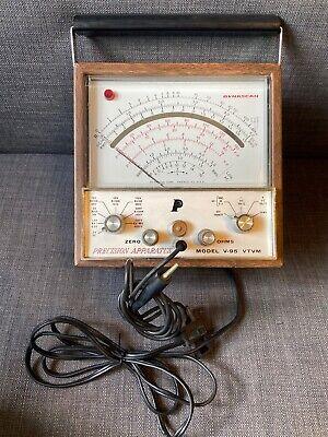 Vintage Bk Precision Model 177 V-95 Vacuum Tube Voltmeter Dynascan