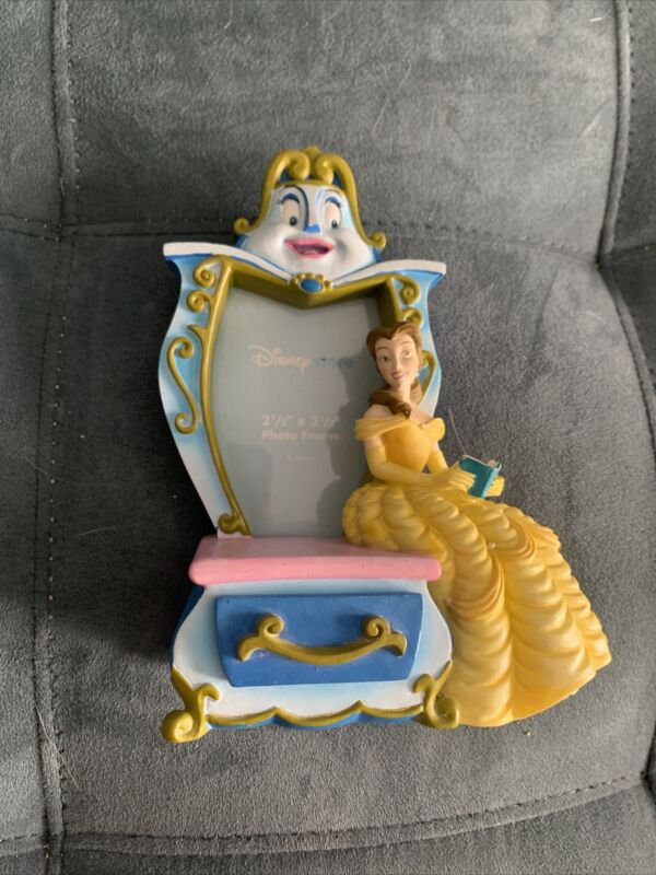 Beauty and The Beast Belle Dresser Wardrobe Picture Frame 3D Little Jewelry Box