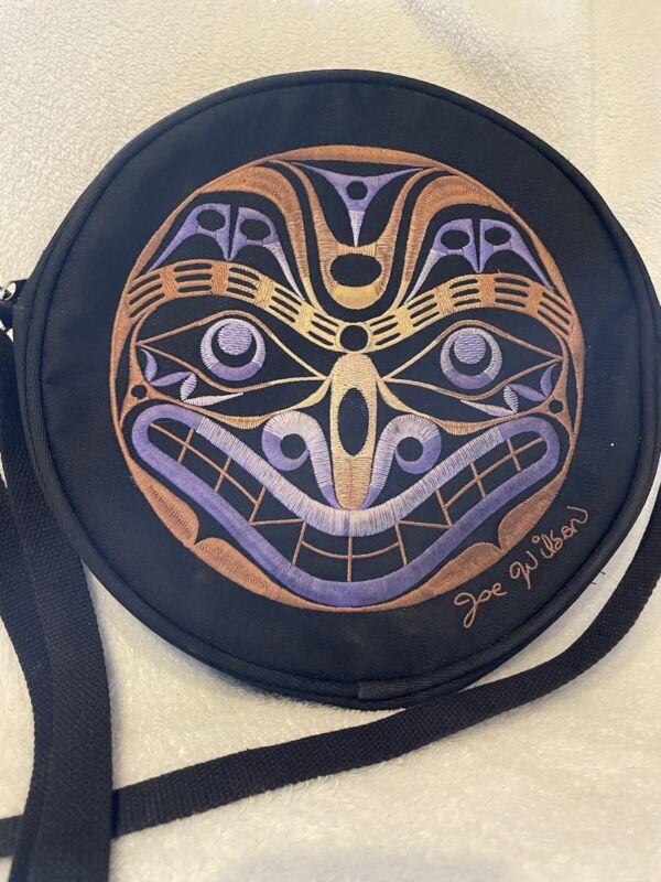 Cowichan Indian Native Purse Joe Wilson,  Beautiful! Earth Wolf