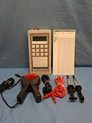 BMI 155 Harmonic Meter w/1000A Current Probe, Meter Probes, Manual, Accessories