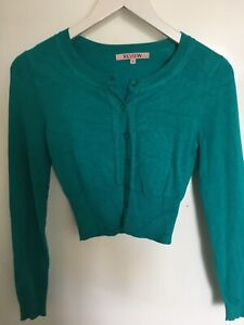 REVIEW cardigan in gorgeous green colour