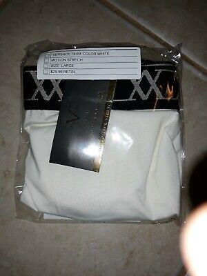 Versace 19-69 Abbigliamento Men's Motion Stretch Boxer Briefs Size L White NWT