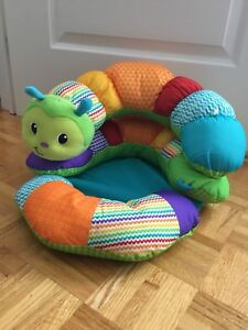 Infantino Pro-a-Pillar Sit and Tummy Time Caterpillar