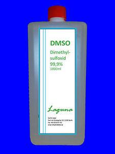 1000 ml DMSO Dimethylsulfoxid 1 Liter in HDPE Flasche  99,9% reinst neu!