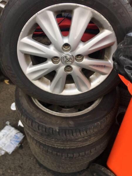 Toyota Corolla Wheels Set 2013 2014 2015 Wheels Tyres Rims Gumtree Australia Fairfield Area Fairfield East 1188275248