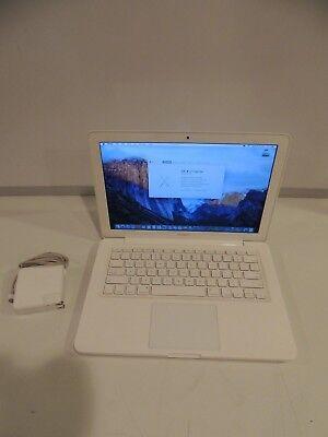 """Apple MacBook A1342 13"""" MC207LL/A 250GB HDD 2.26GHz 2GB MAC OS EL CAPITAN"""