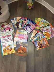 Beginner Readers and books - girl themed
