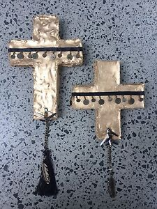 Decorative wall hanging Cross Caringbah Sutherland Area Preview