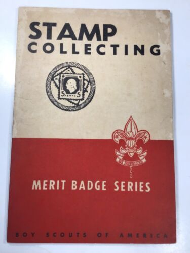 1931 Merit Badge Series Stamp Collecting Boy Scouts Book B2