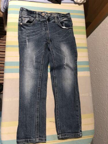Denim&co Mädchen jeans hose Gr.104 Boyfriend Fit Distressed Look