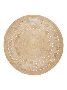 ARMADILLO ROUND MAT HEMP JUTE in Natural Deakin South Canberra Preview