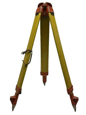 Wild Heerburg Gst20 Large Extendable Wooden Legs Surveyor Surveying Tripod