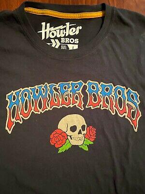 Howler Brothers Shirt Bros Grateful Dead wes lang art Large