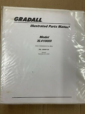 Gradall Xl4100 Parts Bk