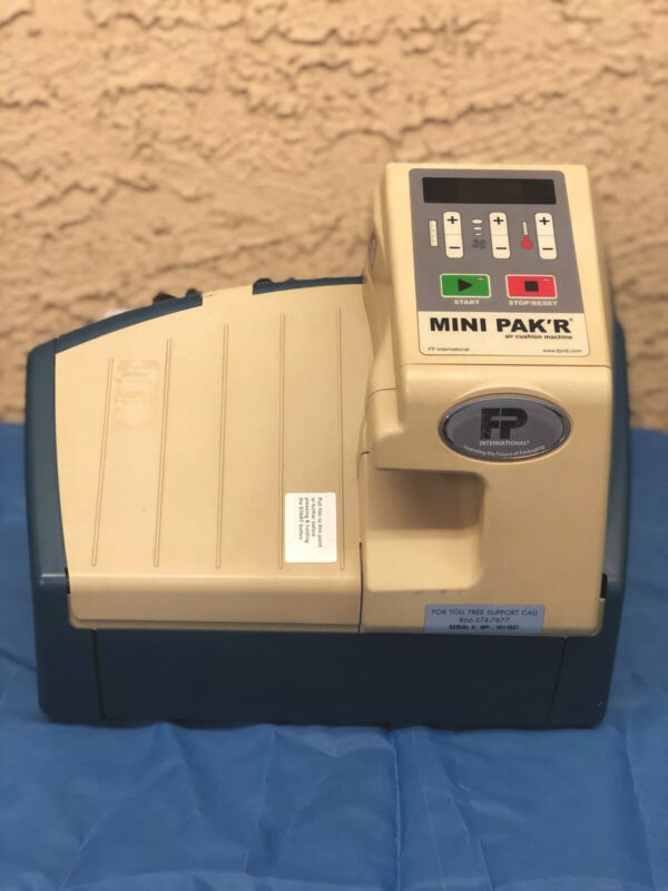 FP International Mini Pak'r Air Pillow Machine Free Ship WORKS GUARANTEED!!