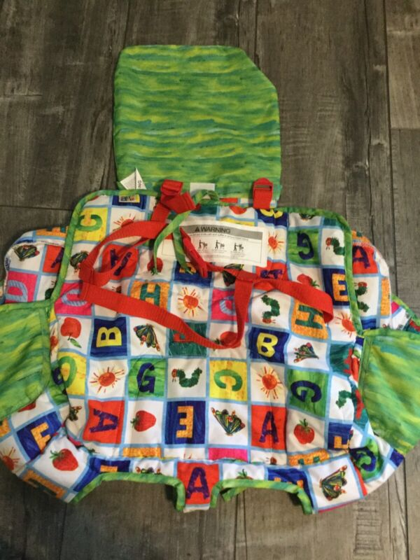 Eric Carle Very Hungry Caterpillar Alphabet Shopping Cart Cover