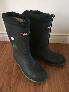 Baffin steel toe boots