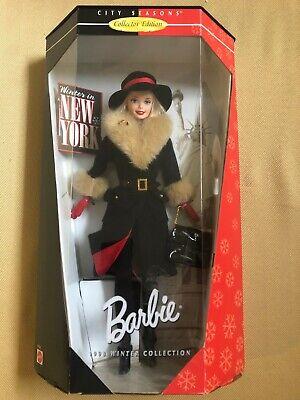 Winter in New York 1998 Barbie Doll - New in Box