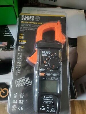 Klein Tools 600a Ac Auto- Ranging Digital Clamp Meter Cl700 - New