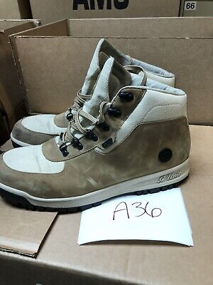 Reebok G-Unit Shoes Mid Nubuck Leather Light Brown/Seed Boots Size 12