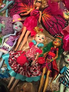 Entire lot of dolls