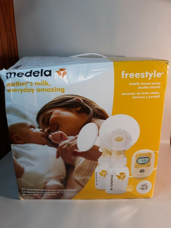 Medela Freestyle Mobile Double Electric Breast Pump New Sealed!