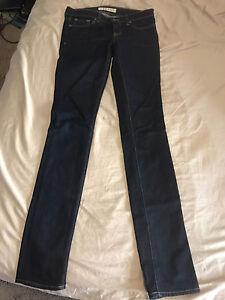 J-Brand pencil leg dark jeans - waist size 25.  Worn once