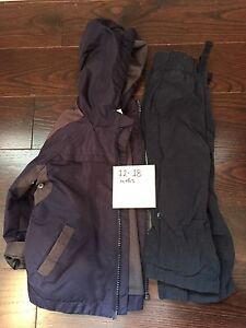 12-18 month Spring Coat & Lined Pants