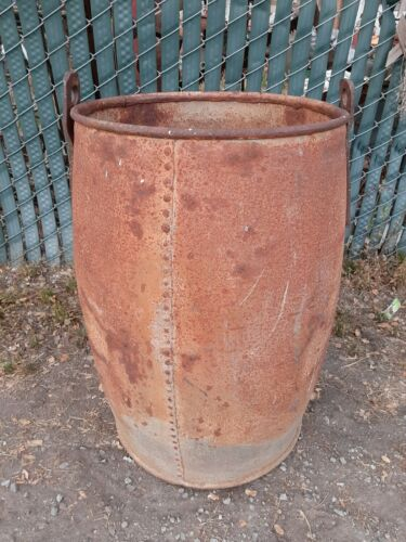 Old Ore bucket gold mining motherlode California