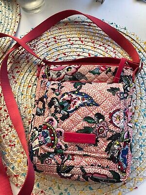 vera bradley mini crossbody Hipster Purse RFID Stitched Garden