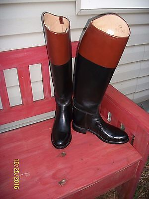 "WOMEN'S BOND EFFINGHAM 20""  TALL BLACK & BROWN RIDING AND OR FASHION BOOTS 6.5"