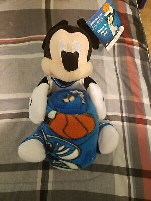 Orlando Magic Disney Mickey Mouse Throw and Pillow Set