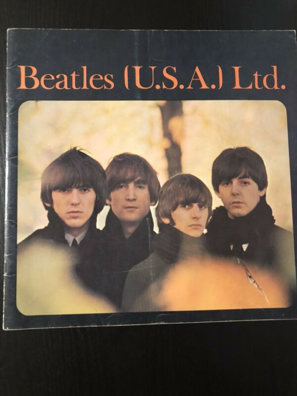 The Beatles USA LTD 1965 Tour Booklet Souvenir