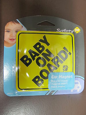 Safety 1st Baby on Board Magnet #48800   NEW