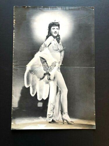 "Lady of Burlesque Original Movie Pressbook (1943) - 18 Pages 12"" x 18"" EX"
