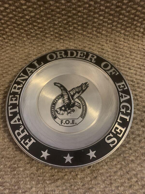 Fraternal Order of Eagles Decorative Plate Trinket Dish