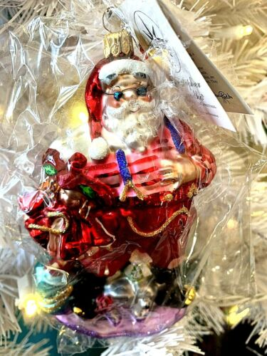 Radko ONE ENCHANTED CHRISTMAS 2000 Saks Fifth Avenue Ltd Ed. #2113 NWTIB