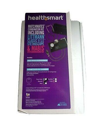 Healthsmart Matchmates Combo Kit Littman Classic Ii S.e. Mabis Sphygmomanometer