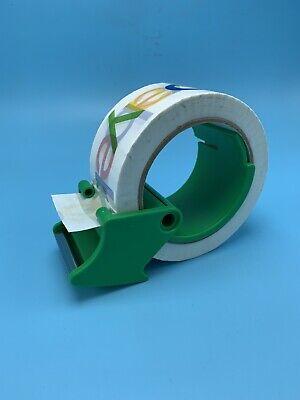 Packing Tape Dispenser W Tape Box Mailer Package Shipping Carton Cutter Gun New
