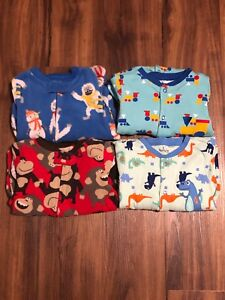 Carter's and Pekkle Boys Sleepers (x4) (Size 12 Months)