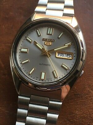 Seiko 5 Automatic Mens Watch BRAND NEW Stunning Dial