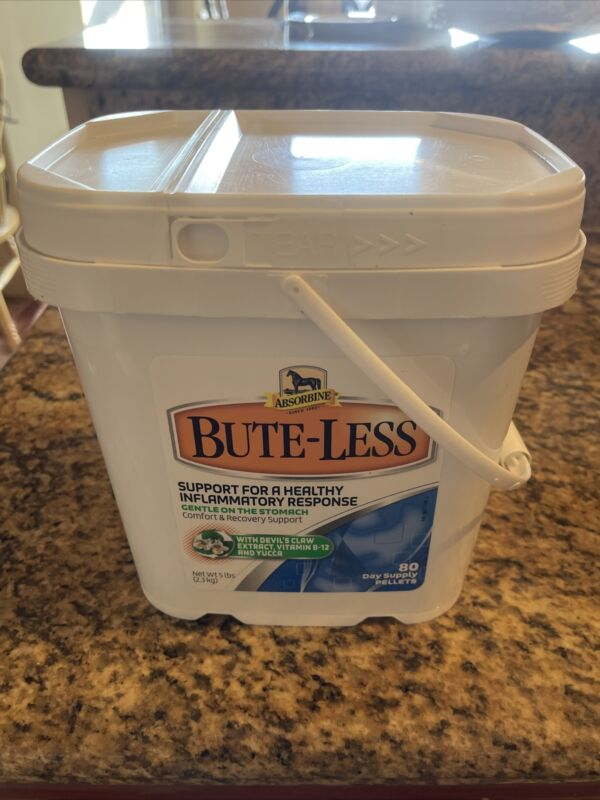 Absorbine Bute-Less Inflammatory Response Pellets 80 Day Supply/5lb Tub Horse