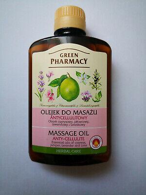 Anti-Cellulite-Massage-Öl - Zypresse, Lavendel