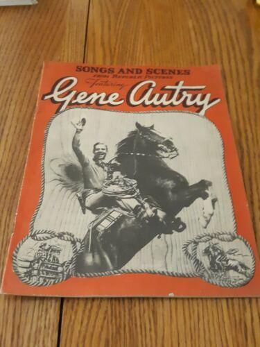 1940 Songs & Scenes Gene Autry Republic Pictures