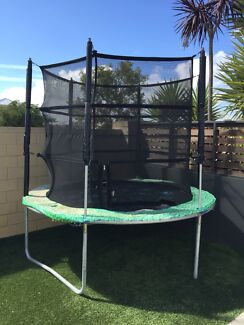 Vuly Tr&oline Classic 8ft Safety Net and Tent included & trampoline tent | Gumtree Australia Free Local Classifieds