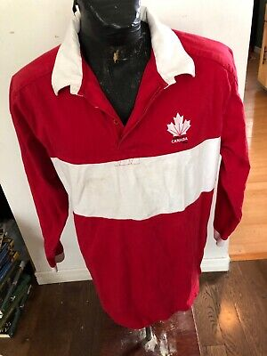 MENS XLarge Stormtech Rugby Jersey Canada Day Canada Rugby Jersey