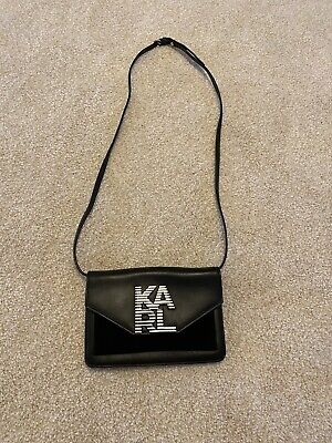 karl lagerfeld black purse
