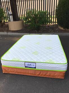 Brand new medium firm pocket spring mattress double$230,queen$250