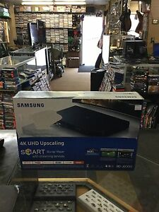 Samsung 4K uhd up scaling smart blue ray player model bd-j6300