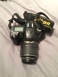 NikonD80 with 3 lenses and 2 Camera bags